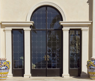 DOUBLE –or- SINGLE SWINGING DOORS
